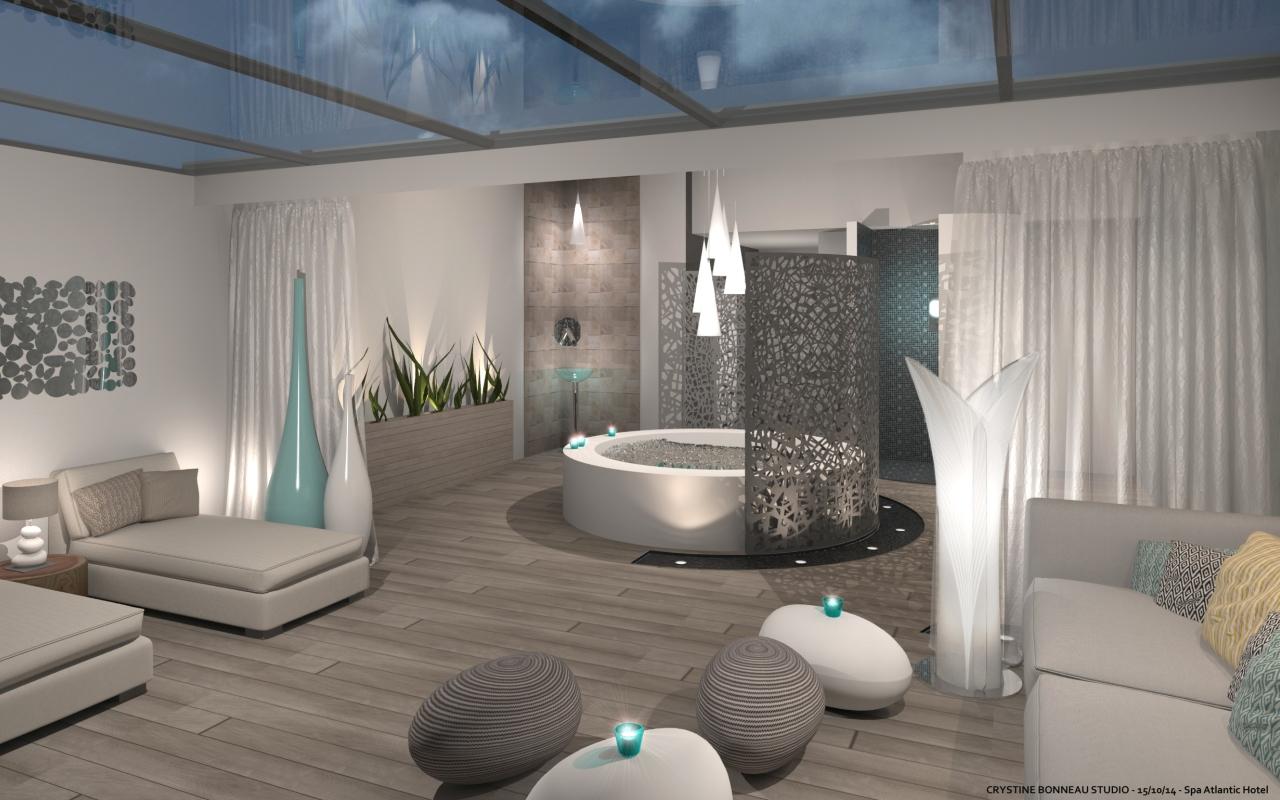 wellness area atlantic hotel spa. Black Bedroom Furniture Sets. Home Design Ideas
