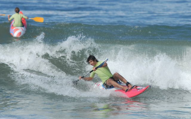 French competition of Waweski surfing