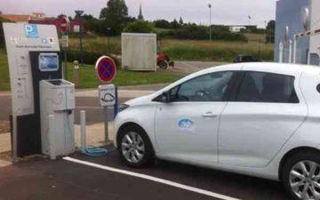 Borne électrique - Havre d'Olonne