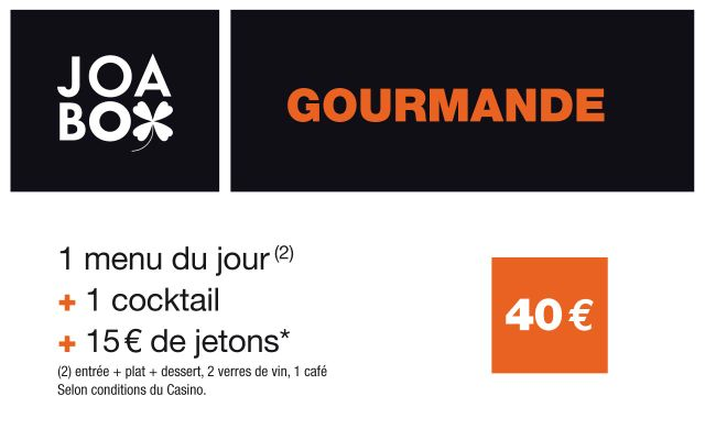 JOABOX  Gourmande - Casino Joa des Pins