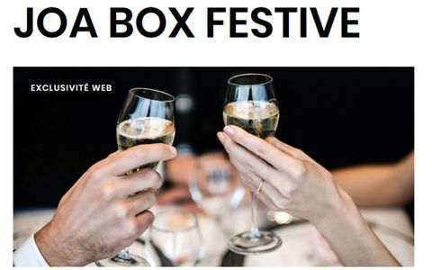 JOABOX  Festive  - Casino Joa des Pins