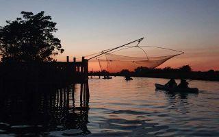 Randonnée crépusculaire - Kayak dans les marais