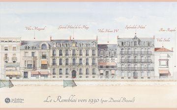 Le Remblai 1930 - Promenade Lafargue
