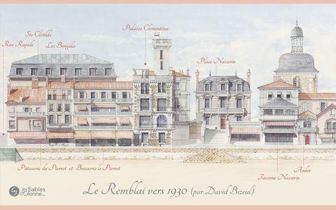 Le Remblai 1930 - Place Navarin
