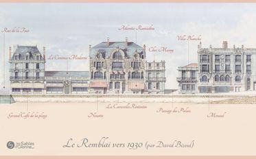 Le Remblai 1930 - Passage du Palais