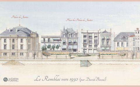 Le Remblai 1930 - Palais de Justice