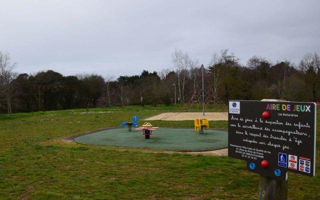 Spielplatz - Parc des Boilardries