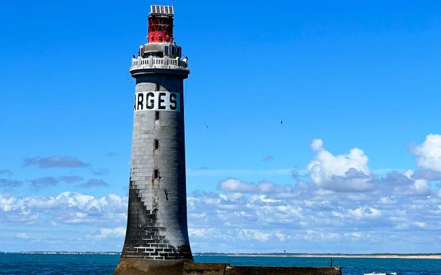 Les Barges lighthouse