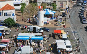 Markt von La Chaume