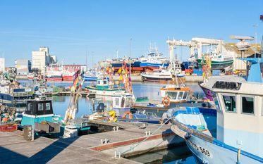 Ein Fischereihafen im Kleinformat