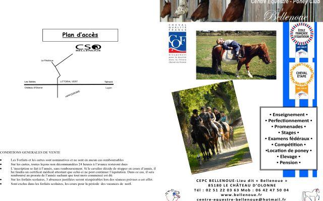 Bellenoue Horse-Riding Centre
