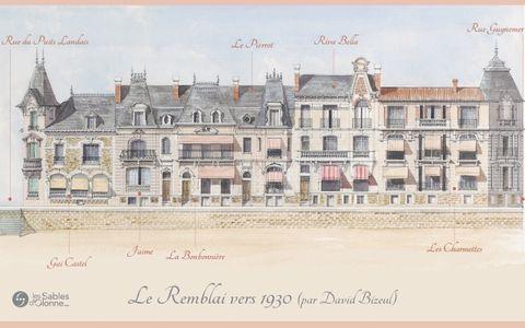 Le Remblai 1930 - Promenade Clemenceau