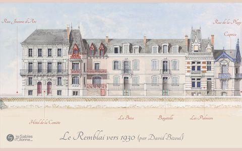 Le Remblai 1930 - Rue Jeanne d'Arc
