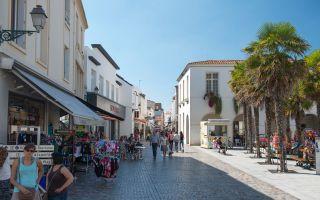 Le centre-ville et ses rues piétonnes
