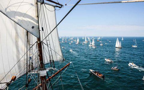 Départ de la Golden Globe Race