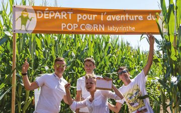 Pop Corn Vegetable Maze