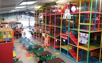 Parc enfants des Sablotins - structures gonflables - Parc enfants des Sablotins - structures gonflables