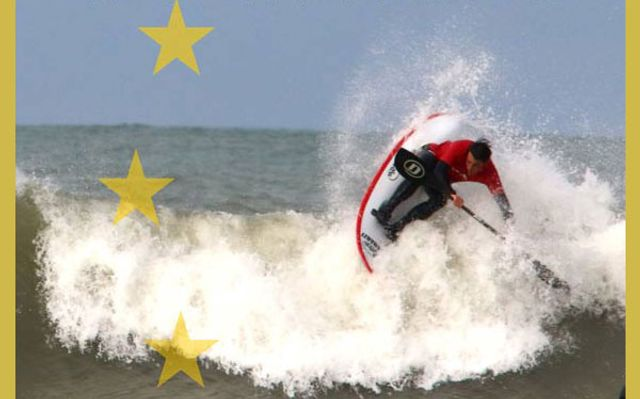 Competition of Waweski surfing
