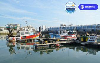 Centre de marée -  port de pêche des Sables - Centre de marée - visite guidée de la criée du port de pêche des Sables d'Olonne