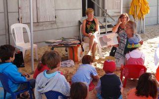 Lectures sur la plage