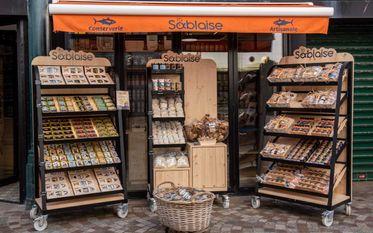 Seafood cannery La Sablaise