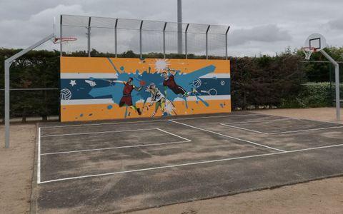 Terrain de street basket des Sauniers