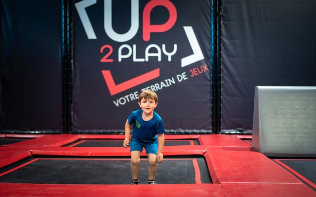 Trampoline park - UP2PLAY