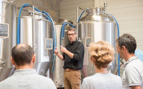 Visite de la brasserie artisanale La Cabaude