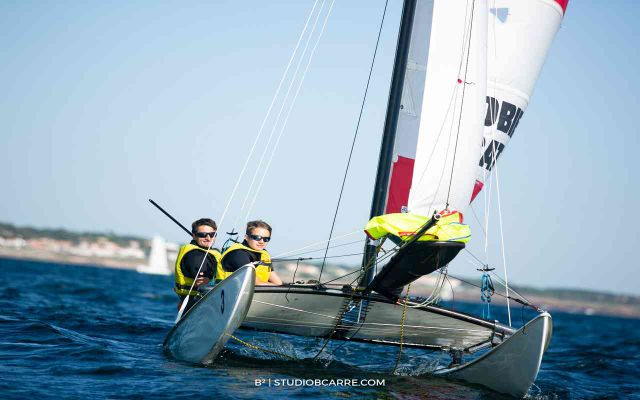 Stage Catamaran Topaz ou Hobie Cat 16 1ers Bords