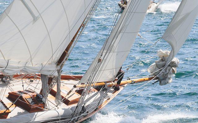 Yacht von les Sables