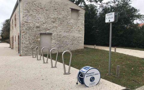 Station de gonflage de La Jarrie