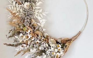 Atelier DIY - Couronne de fleurs séchées