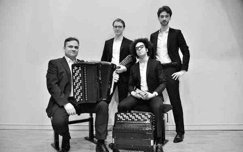 Rassemblement des classes d'accordéon de Vendée et concert du quatuor Aeolina