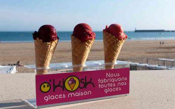 Ice cream parlour O'Kiosk