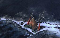 """Projection """"Septembre 1930 : Les thoniers dans la tempête"""""""