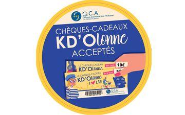 Chèque KD'Olonne