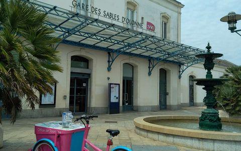 Point d'Information Mobile (Gare SNCF)