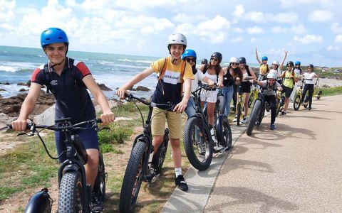 Balade avec La Vendée à Trottinette