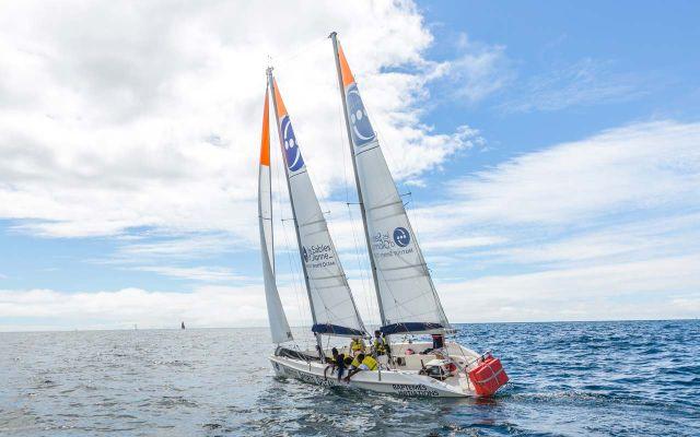 Sortie à bord du voilier - le Fillao