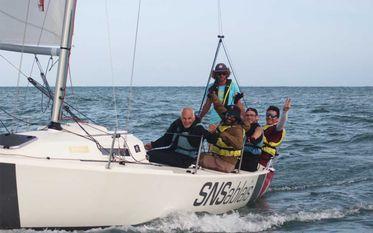 Sortie en mer avec les Sports Nautiques Sablais (SNS)