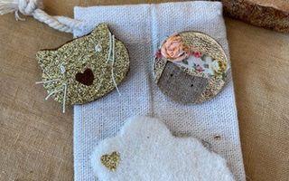 DIY - Atelier Mes petites broches