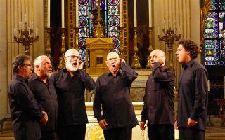 Concert de l Ensemble Vocal et Instrumental Corse Sarocchi