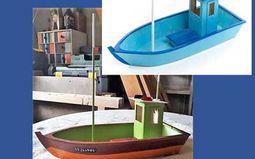 Ateliers enfants : construction d'une maquette de bateau