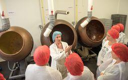 Journées Régionales de la Visite d'Entreprise - Le Chocolatier Sablais