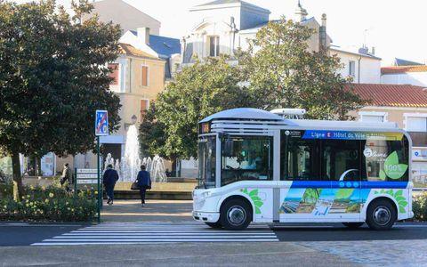 """Bus de ville """"Oléane Mobilités"""""""
