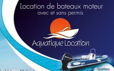 Boat rental - Aquatique Location