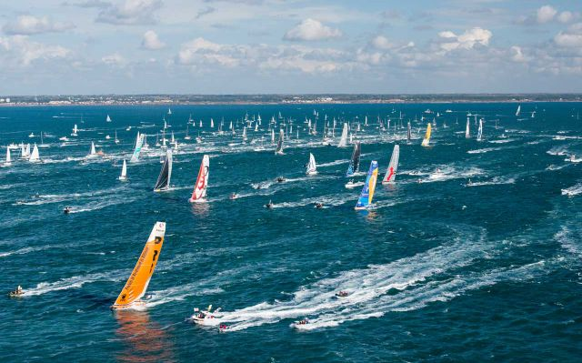 Departure of the Vendée Globe