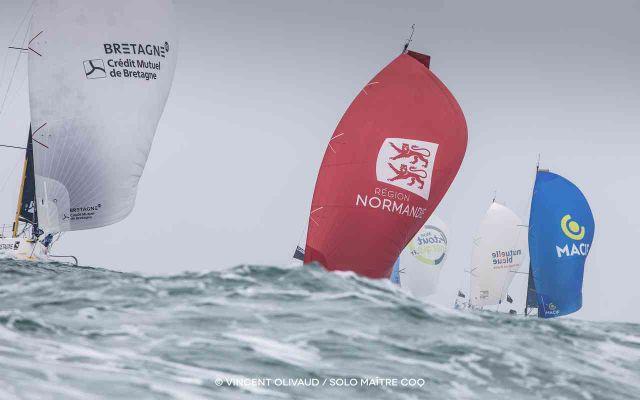 Solo Maître Coq : Race of sailing