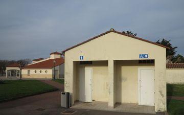 Toilettes - Jardin Arago