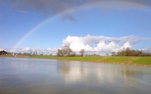 Pêche au plan d'eau de Sainte Foy